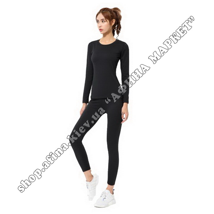 Thermal Underwear FENTA Winter Black Adult 110085