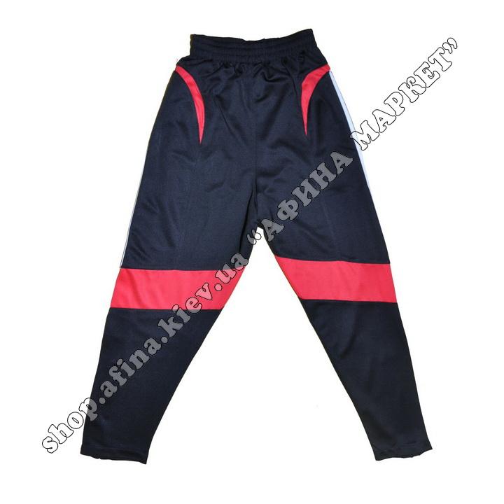 Зауженные штаны для футбола F50 Black/Red