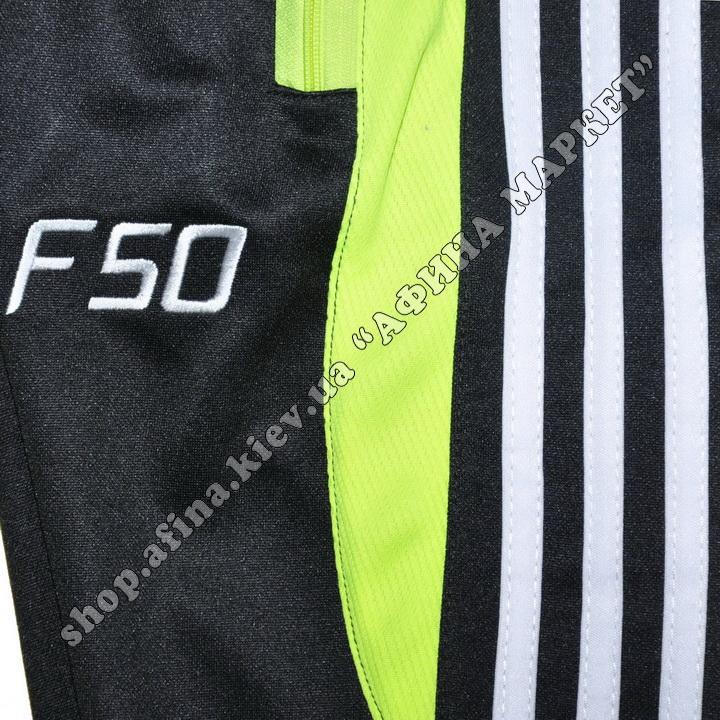 Зауженные штаны F50 салатовые