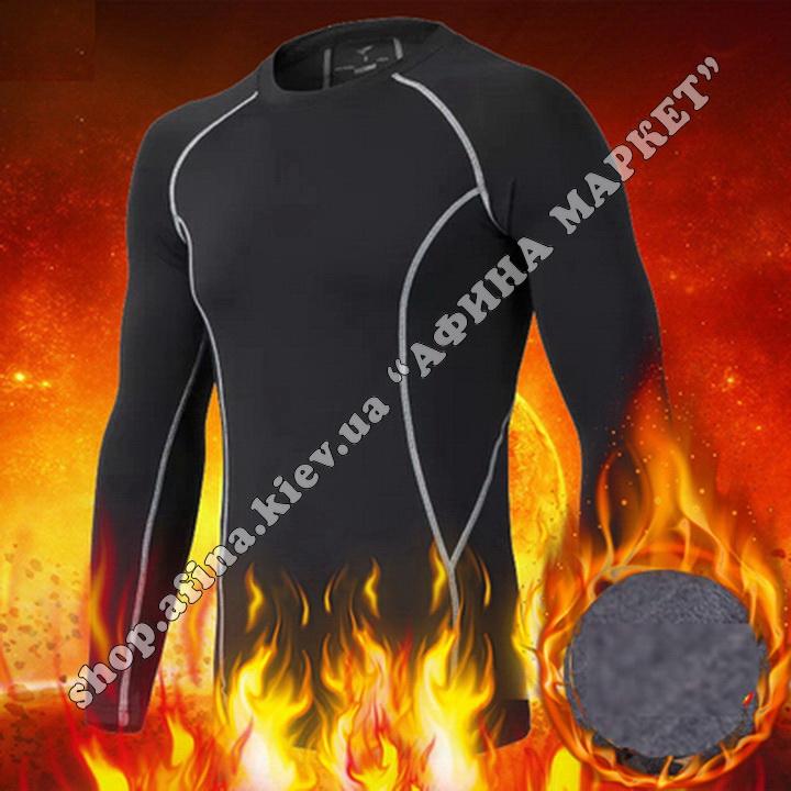 Thermal Underwear SPORT Winter Black/Gray 107688