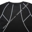 Гірськолижна термобілизна дитяча для футболу з кашеміром SPORT Black/Gray