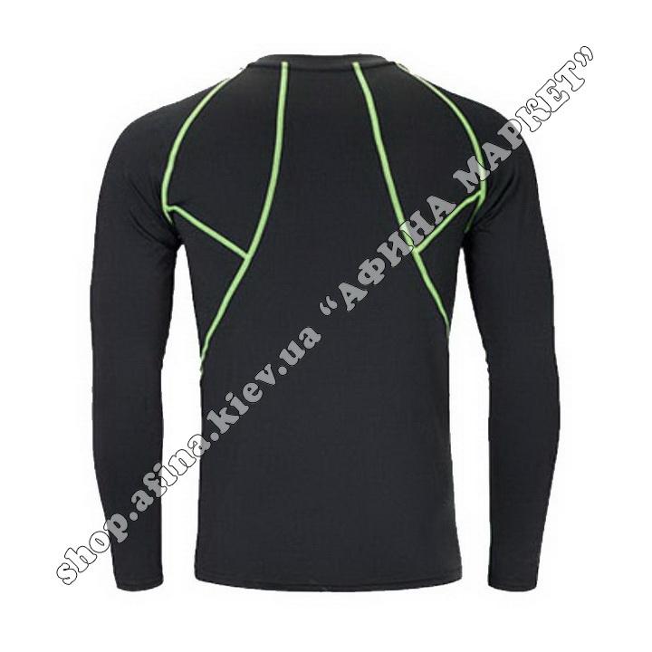 Гірськолижна термобілизна дитяча SPORT Black/Green 107718