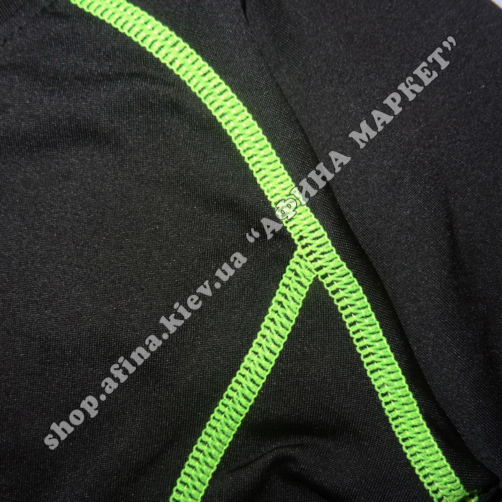 Гірськолижна термобілизна дитяча SPORT Black/Green 107720