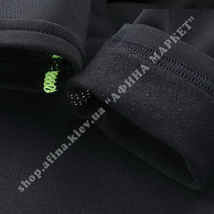 Гірськолижна термобілизна дитяча для футболу FENTA Black Ventilation 107679