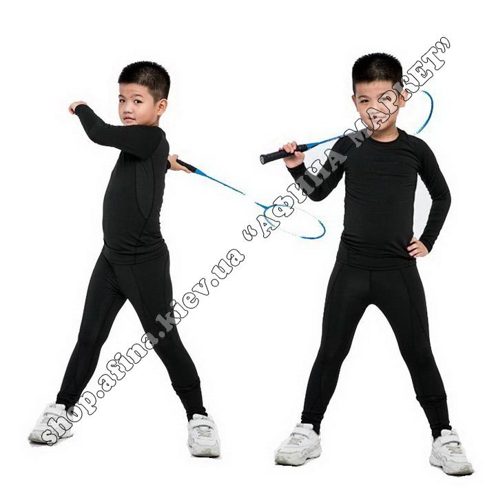 Thermal Underwear FENTA Winter Black Kids 107686