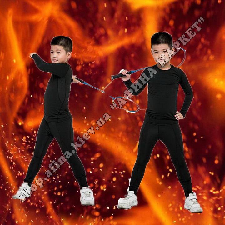 Thermal Underwear FENTA Winter Black Kids
