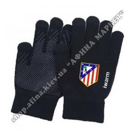 Зимние сенсорные перчатки Атлетико Мадрид