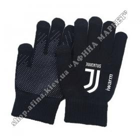 Зимние сенсорные перчатки Ювентус 2019